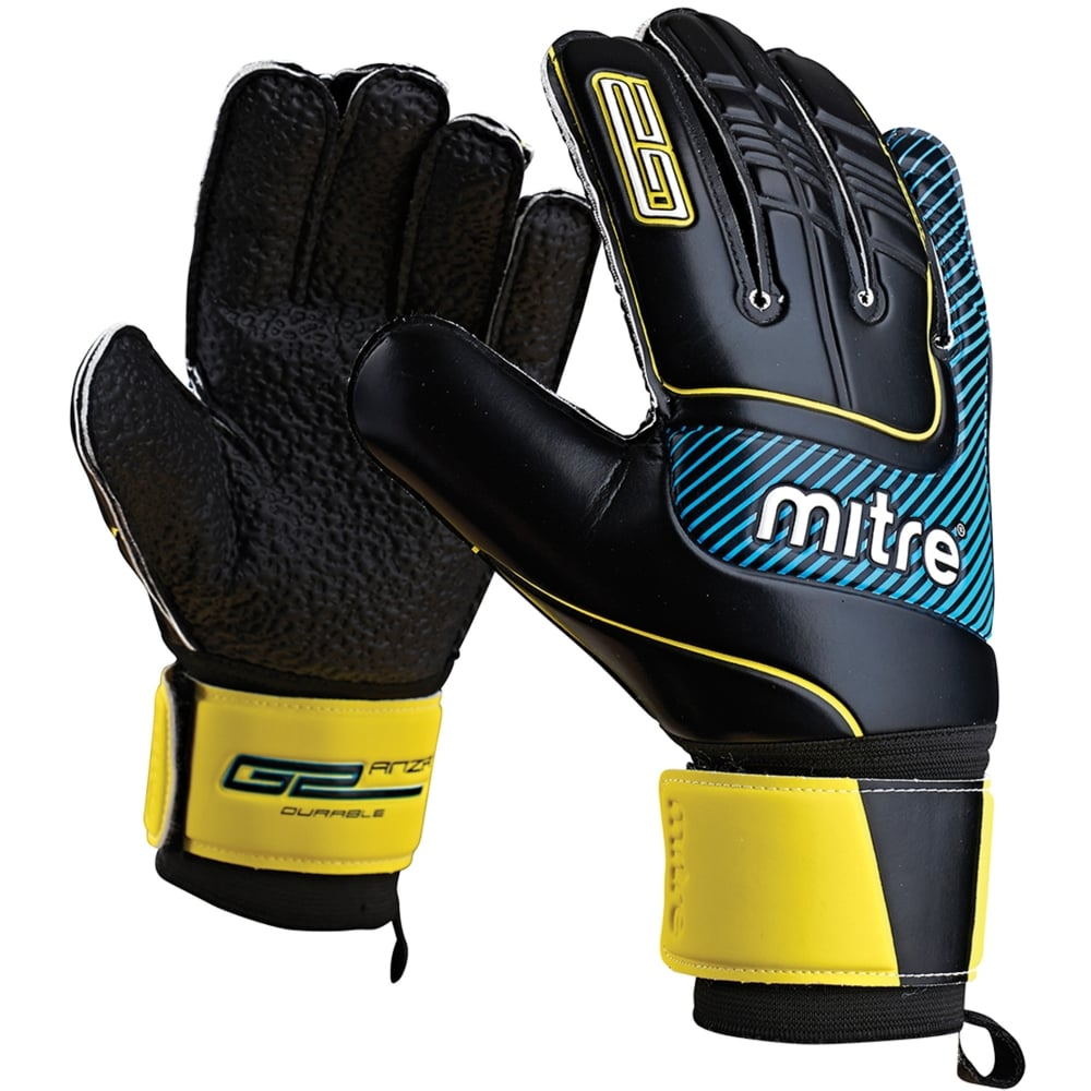 Mitre Anza G2 Durable Goalkeepers Glove   Mitre Goalie Gloves c4e4e5202