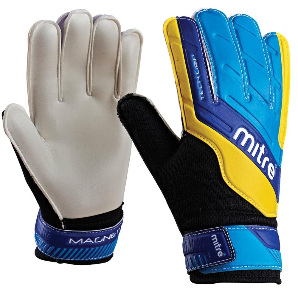 Mitre Magnetite Jnr Goalkeeper Gloves   Goalkeeper Gloves