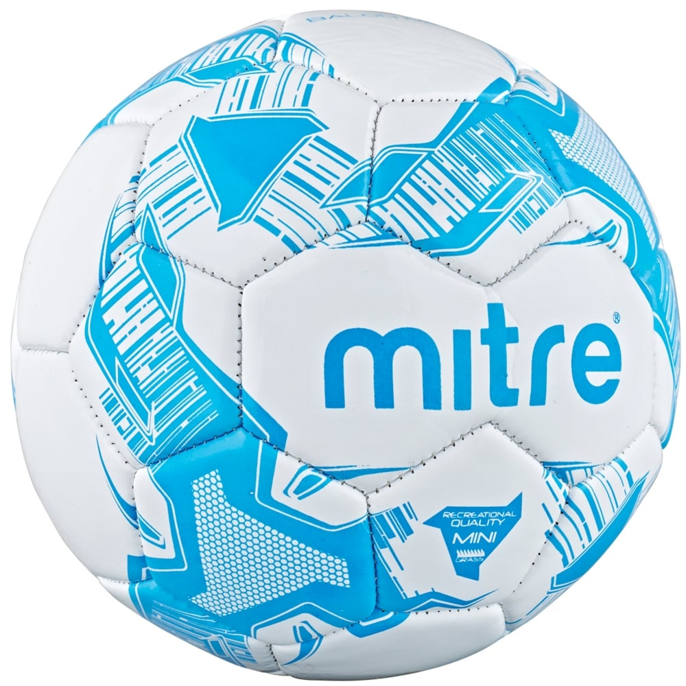 Mitre Mini Balon Football Size 1 Ball Recreational Footballs