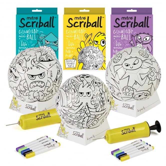 Mitre Mini Scriball Bundle Collection