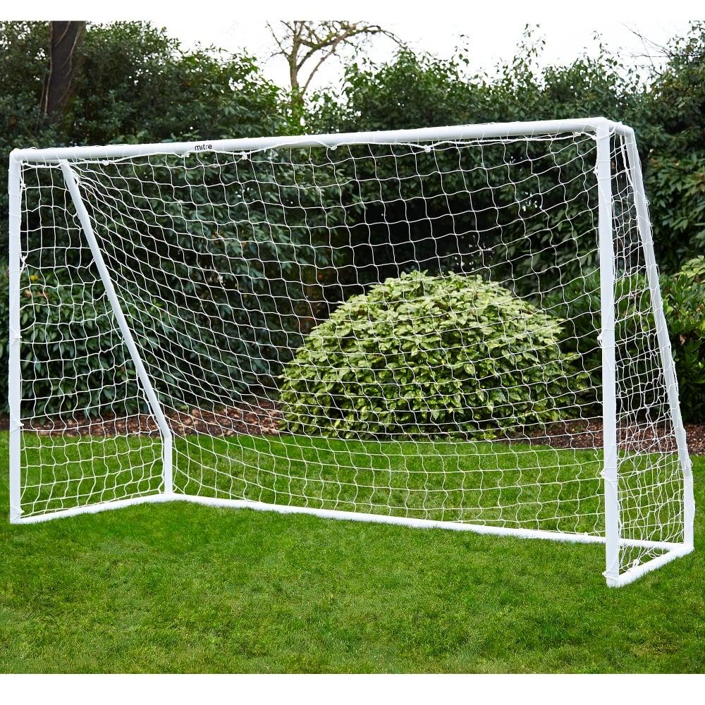 Mitre portable goal 10x6 easy to aseemble football goals portable football goal 10x6 reheart Images