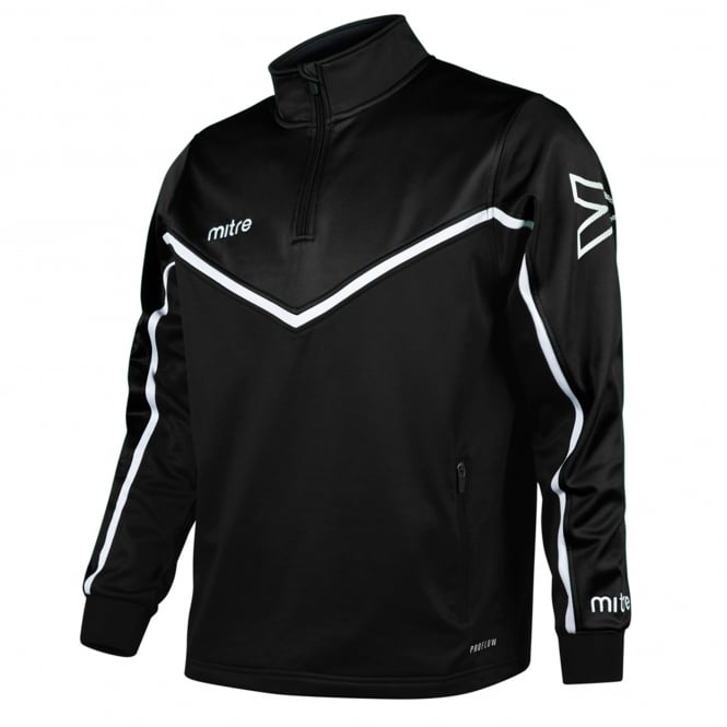 Mitre Primero Quarter Zip Poly Top