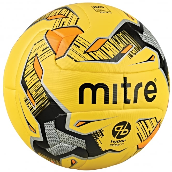 Mitre Ultimatch Fluo Hyperseam Football