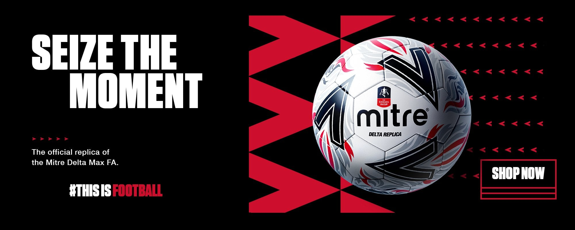 New FA Cup Ball Banner
